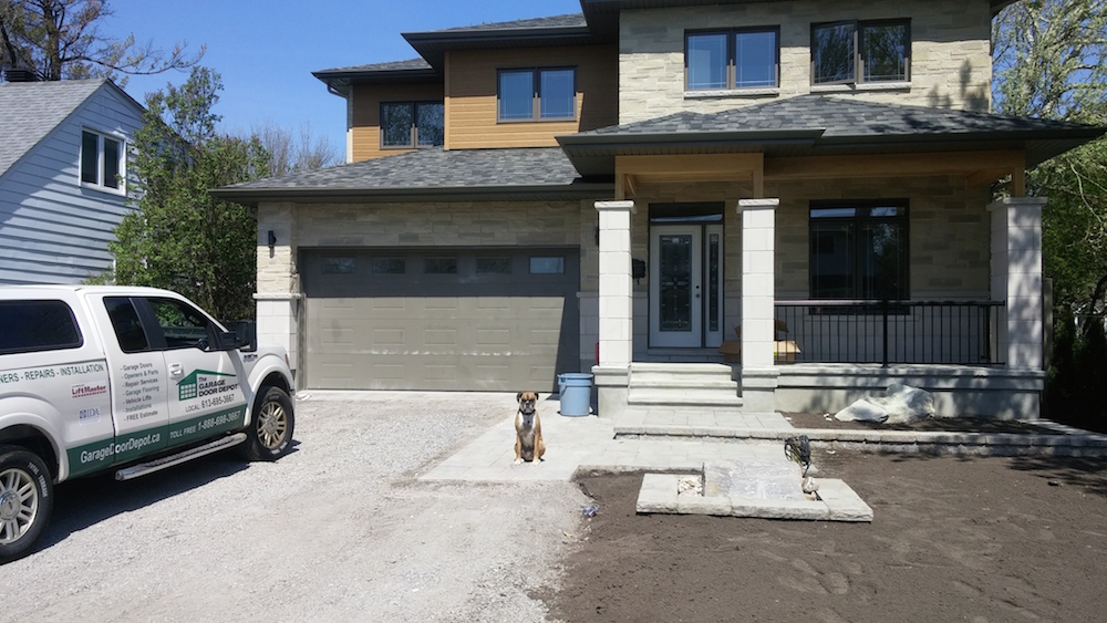 of after overhead ohd garage match before exterior news albuquerque windows home new door and