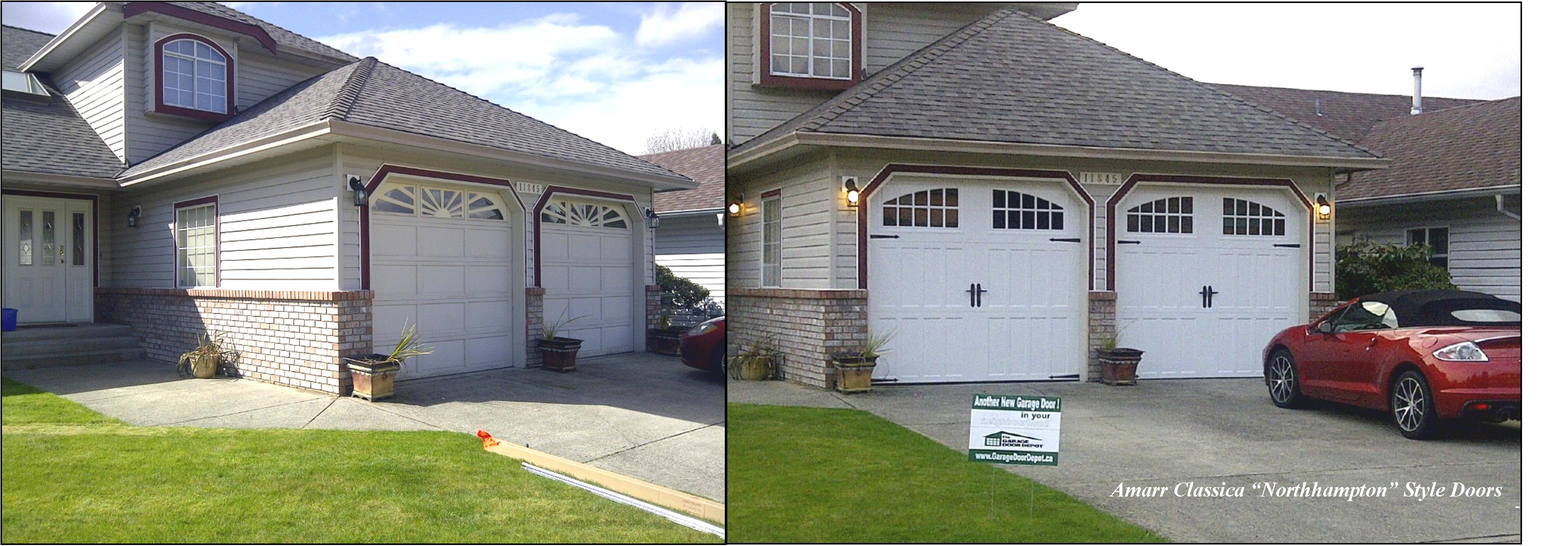 1093 #4F6620 Our Portfolio Gallery The Garage Door Depot North Shore save image Amarr Garage Doors Locations 36173099